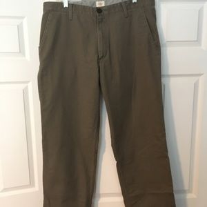 Dockers chinos. 36x34. Olive green.